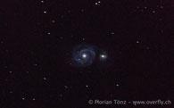 Whilrpool Galaxie Messier 51