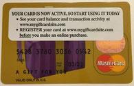 Thanh toán quốc tế bằng Gift Card