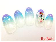 3D雪だるまミッキー&ミニー