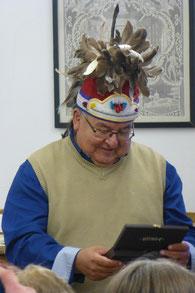 Häuptling Greg Peters Lenape