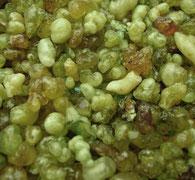 Farbweihrauch Olibanum grün gefärbt Synthetik grüner Weihrauch