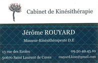 Cabinet de Kinésithérapie Jérôme Rouyard - Saint-Laurent-de-Cuves