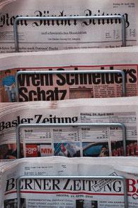 MWS-Buchhaltungsservice Zeitungen, Zeitungsständer