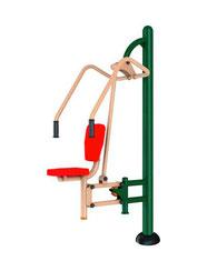 Ejercitador Para Pecho para exterior, parques , uso rudo