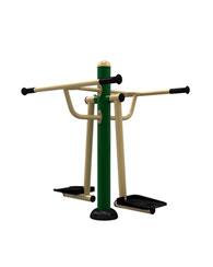 Ejercitador Doble Péndulo Para Cintura, parques , exterior uso rudo