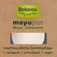 Balanox moyupur: Schwamm für Gesichtreinigung, Dusche & Bad ::: ohne Mikroplastik ::: vegan
