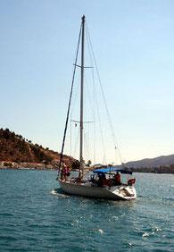 Voile en Grèce, voyages pour solos, partirseul.com