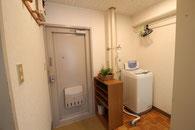 洗濯機設置されたお部屋の例