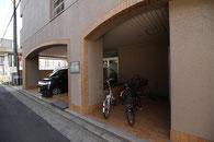 マンスリーマンション「新潟ステーションハイツ」の駐輪場
