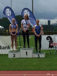 Fabienne Rietmann, Speerwurf, 1. Rang U16w