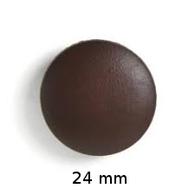 Boutons en cuir de 24 mm