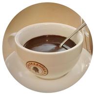 Café Shokoladnitsa St. Petersburg Russland heiße Schokolade