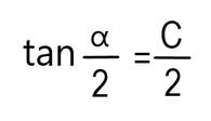 Formel zur Berechnung des Einstellwinkel am Oberschlitten