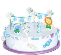 1. Geburtstag Safari Geburtstagstorte Löwe