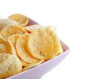 Proweightless Chips mit Zwiebel-Schmandgeschmack