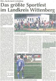 """11. """"Tag des Sports"""" in Kemberg 2007 - BSV Merkwitz"""