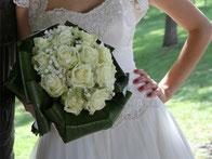 Brautstrauß, Hochzeitsblumen, Floristik