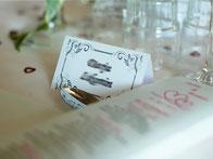 Papierwaren, Tischkarten, Sitzplan