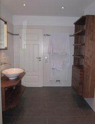 Badezimmerschrank Nussbaum Badmöbel