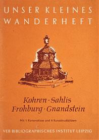 Kleines Wanderheft Nr. 41 Kohren-Sahlis Gnandstein