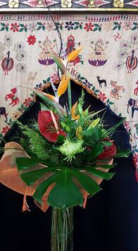 Ramo de flores mediano .