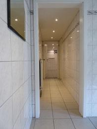Zugang Duschen