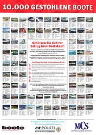 Plakat Gestohlene Boote
