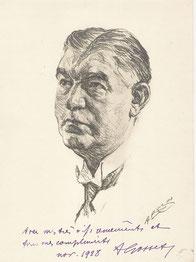Antonin Gosset  professeur medecine 1928