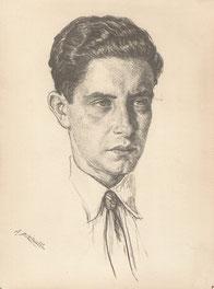 Léon Bilis son neveu 1928