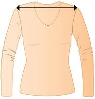 Damen V-Pullover in XXL , Pullis für füllige Frauen , Größentabelle ab Größe 42