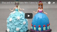 princess party cakes