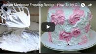 meringue recipe,frosting recipe,frosting tutorial,italian meringue,frosting tutorial,