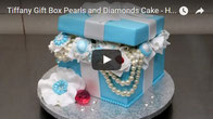 Diamonds and pearls cake