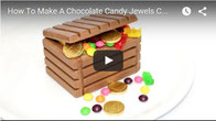 Chocolate Candy Jewels Chest