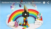 Torta piñata como hacer