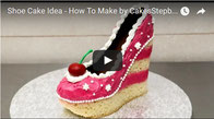 chocolate shoe cake,cake,cake decorating,cake tutorial,cake fashion,amazing cake,stunning cake,vanilla cake,