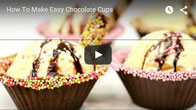How To Make Easy Chocolate Cups