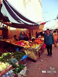 モロッコの一般的な庶民が行く市場/モロッコ・シャエウンMikaのブログ