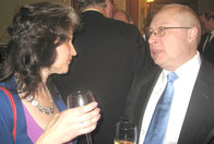 В. Курченко и генеральный консул И.Голубовский