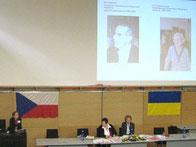 И. Грубмайр, Г. Миронова и М. Чижмарова (Словакия)