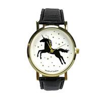 Einhorn Uhr