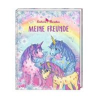 Einhorn Freundebuch