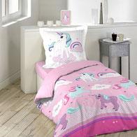 Einhorn Bettwäsche