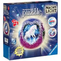 Einhorn 3D Puzzleball