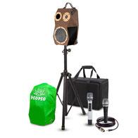 Location de sonorisation, enceinte PeoPeo Boombox pour animation événementielle