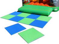 Location de dalle tapis amortissants puzzle de chute gymnastique ou activités enfants