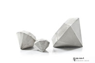 Concrete Diamond Set of 3 by PASiNGA