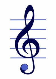 Der Schlüssel zu den Noten: die Liebe zur Musik - bei Lausch & Zweigle