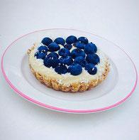 Blaubeer Törtchen ohne backen Rezept Dessert