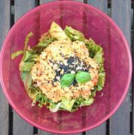 Karfiol Reis auf Salat Rezept